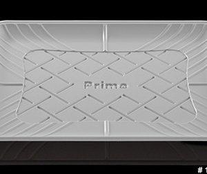 Charolas de plástico rectangular