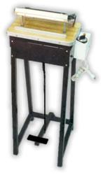 Selladora de mesa con termostato para polietileno
