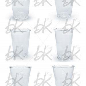 Vaso tipo cristal